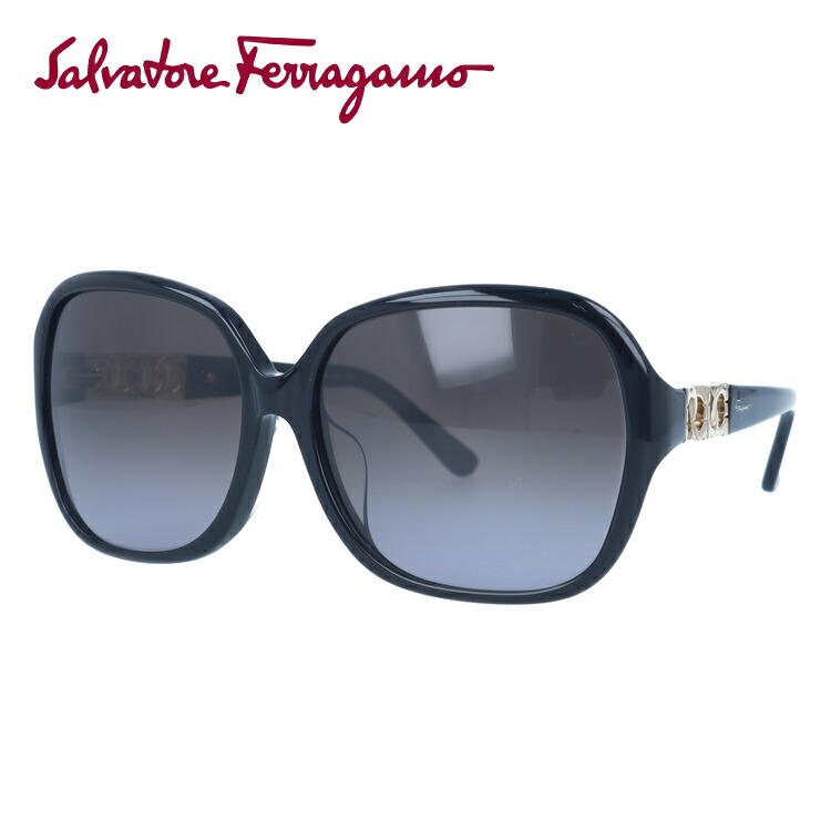 サルヴァトーレフェラガモ サングラス Salvatore Ferragamo 国内正規品 SF735SA 001 59サイズ アジアンフィット メンズ レディース