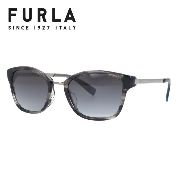 フルラ サングラス アジアンフィット FURLA SFU115J 09HP 51サイズ 国内正規品 ウェリントン ユニセックス メンズ レディース
