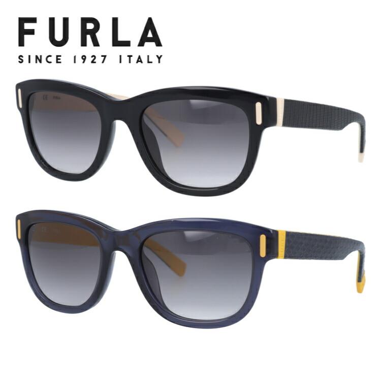 フルラ FURLA サングラス 国内正規品 SU4907 0700/0W47 52 レギュラーフィット レディース 女性 ブランドサングラス メガネ UVカット カジュアル ファッション