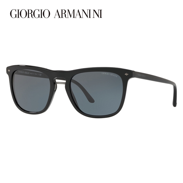 ジョルジオアルマーニ サングラス 2018年新作 アジアンフィット GIORGIO ARMANI AR8107F 5017R5 53サイズ 国内正規品 ウェリントン ユニセックス メンズ レディース