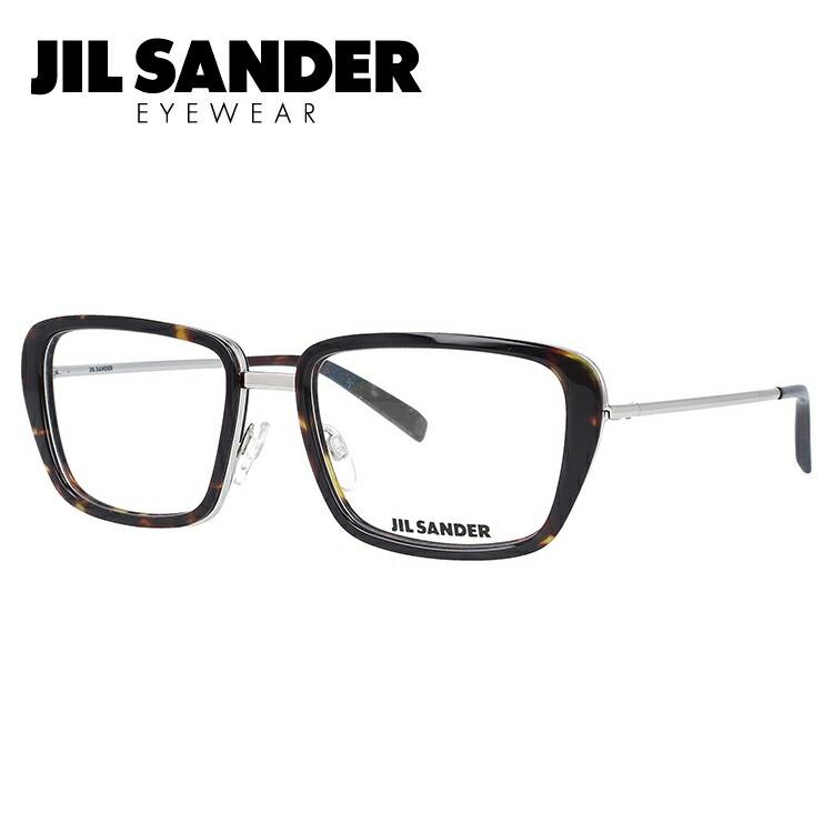 JIL SANDER メガネ フレーム ジル・サンダー 伊達 眼鏡 J2002-B 54 メンズ レディース ブランドメガネ ダテメガネ ファッションメガネ 伊達レンズ無料(度なし・UVカット)