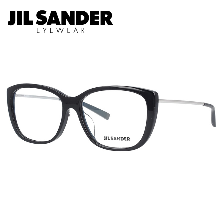 JIL SANDER メガネ フレーム ジル・サンダー 伊達 眼鏡 J4002-K 55 アジアンフィット レディース ブランドメガネ ダテメガネ ファッションメガネ 伊達レンズ無料(度なし・UVカット)