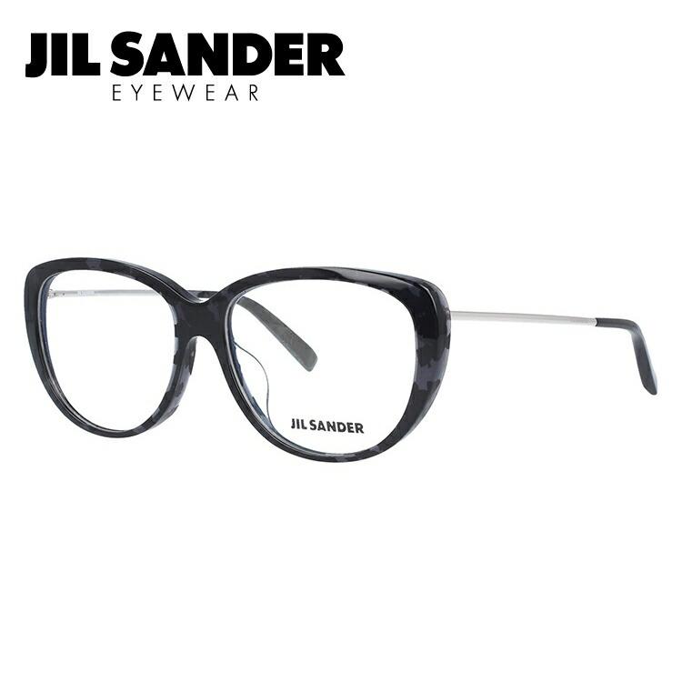 JIL SANDER メガネ フレーム ジル・サンダー 伊達 眼鏡 J4003-K 56 アジアンフィット レディース ブランドメガネ ダテメガネ ファッションメガネ 伊達レンズ無料(度なし・UVカット)