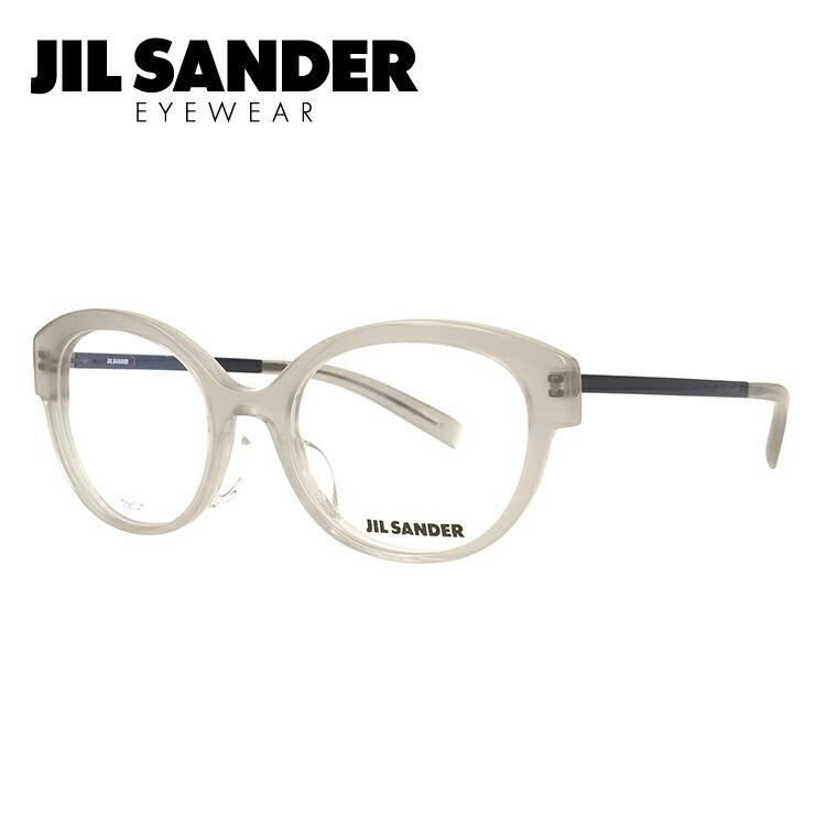 JIL SANDER メガネ フレーム ジル・サンダー 伊達 眼鏡 J4010-C 52 レギュラーフィット レディース ブランドメガネ ダテメガネ ファッションメガネ 伊達レンズ無料(度なし・UVカット)
