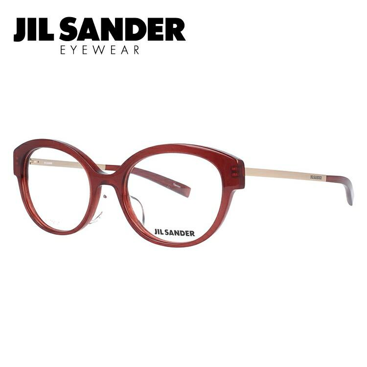 JIL SANDER メガネ フレーム ジル・サンダー 伊達 眼鏡 J4010-D 52 レギュラーフィット レディース ブランドメガネ ダテメガネ ファッションメガネ 伊達レンズ無料(度なし・UVカット)
