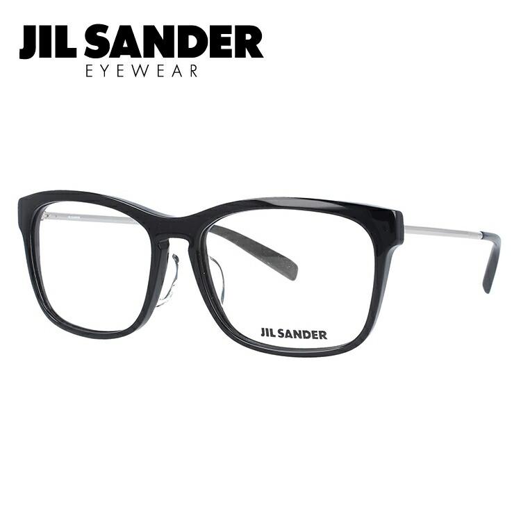 JIL SANDER メガネフレーム おしゃれ老眼鏡 PC眼鏡 スマホめがね 伊達メガネ リーディンググラス 眼精疲労 ジル・サンダー 伊達 眼鏡 J4011-A 55 レギュラーフィット メンズ レディース