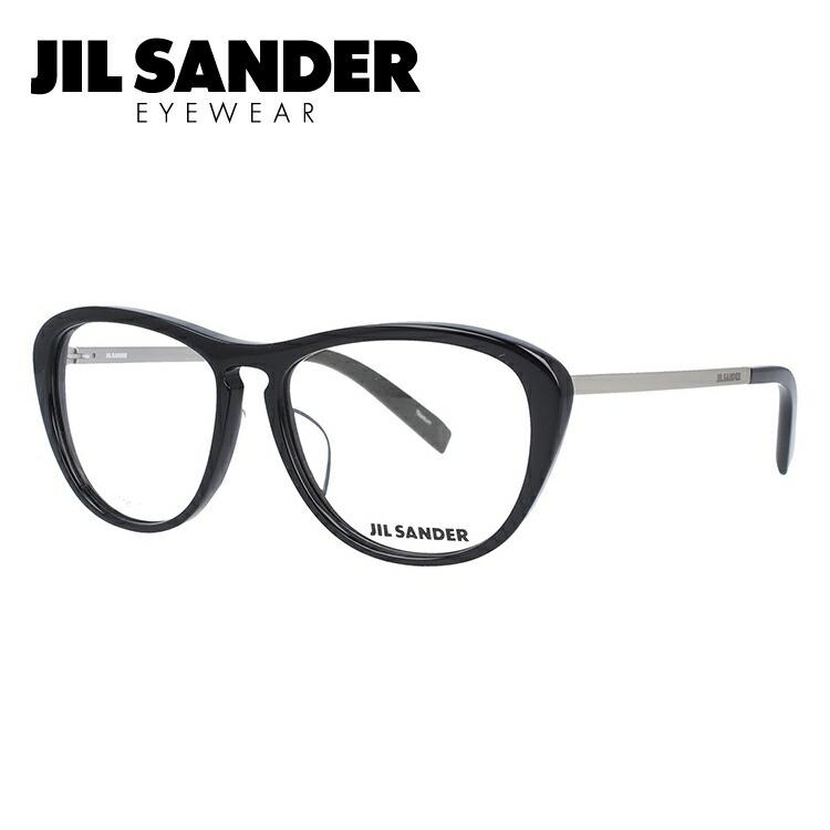 JIL SANDER メガネ フレーム ジル・サンダー 伊達 眼鏡 J4013-A 53 レギュラーフィット レディース ブランドメガネ ダテメガネ ファッションメガネ 伊達レンズ無料(度なし・UVカット)