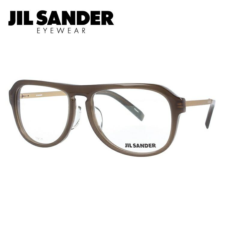 JIL SANDER メガネ フレーム ジル・サンダー 伊達 眼鏡 J4014-B 55 レギュラーフィット メンズ レディース ブランドメガネ ダテメガネ ファッションメガネ 伊達レンズ無料(度なし・UVカット)