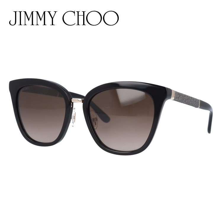ジミーチュウ サングラス JIMMY CHOO FABRY/S FA3/J6 53サイズ 国内正規品 ウェリントン ユニセックス メンズ レディース