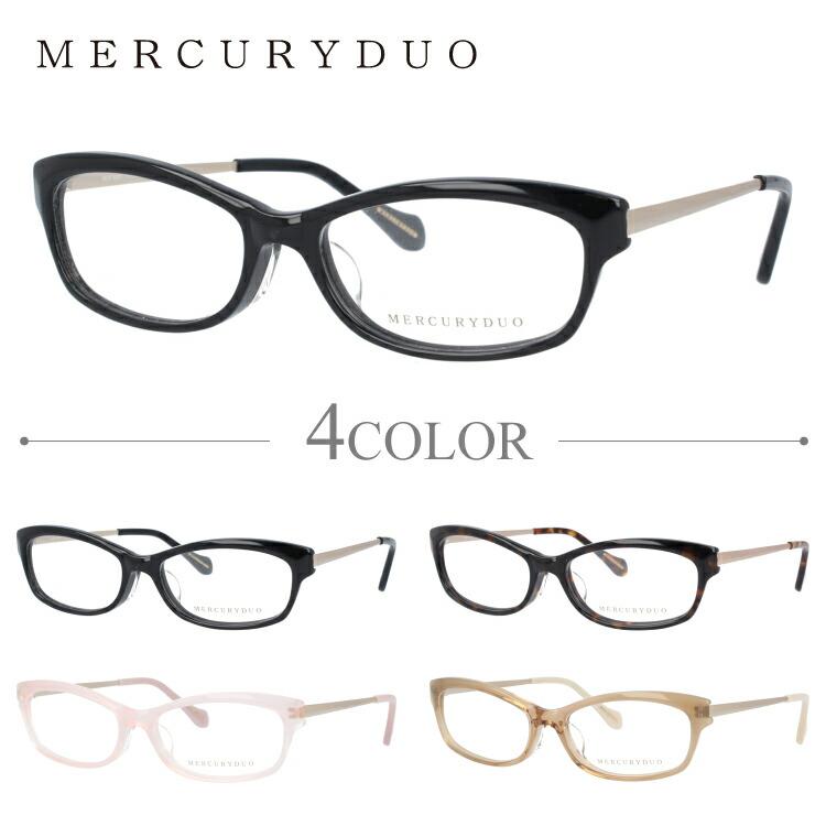 マーキュリーデュオ メガネ MERCURYDUO 伊達 眼鏡 MDF8001 全4カラー レディース ブランドメガネ ダテメガネ ファッションメガネ 伊達レンズ無料(度なし・UVカット)