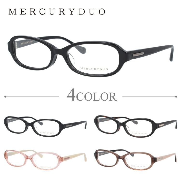 マーキュリーデュオ メガネ MERCURYDUO 伊達 眼鏡 MDF8002 全4カラー レディース ブランドメガネ ダテメガネ ファッションメガネ 伊達レンズ無料(度なし・UVカット)