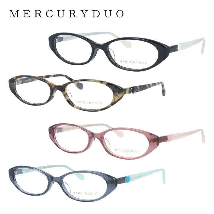 マーキュリーデュオ メガネ MERCURYDUO 伊達 眼鏡 MDF8009 全4カラー レディース ブランドメガネ ダテメガネ ファッションメガネ 伊達レンズ無料(度なし・UVカット)
