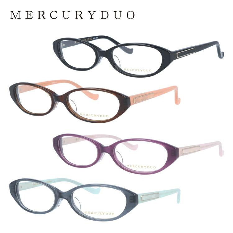 マーキュリーデュオ メガネ MERCURYDUO 伊達 眼鏡 MDF8010 全4カラー レディース ブランドメガネ ダテメガネ ファッションメガネ 伊達レンズ無料(度なし・UVカット)