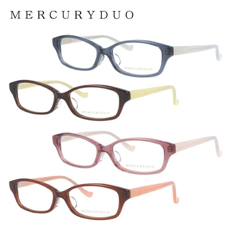 マーキュリーデュオ メガネ MERCURYDUO 伊達 眼鏡 MDF8011 全4カラー レディース ブランドメガネ ダテメガネ ファッションメガネ 伊達レンズ無料(度なし・UVカット)