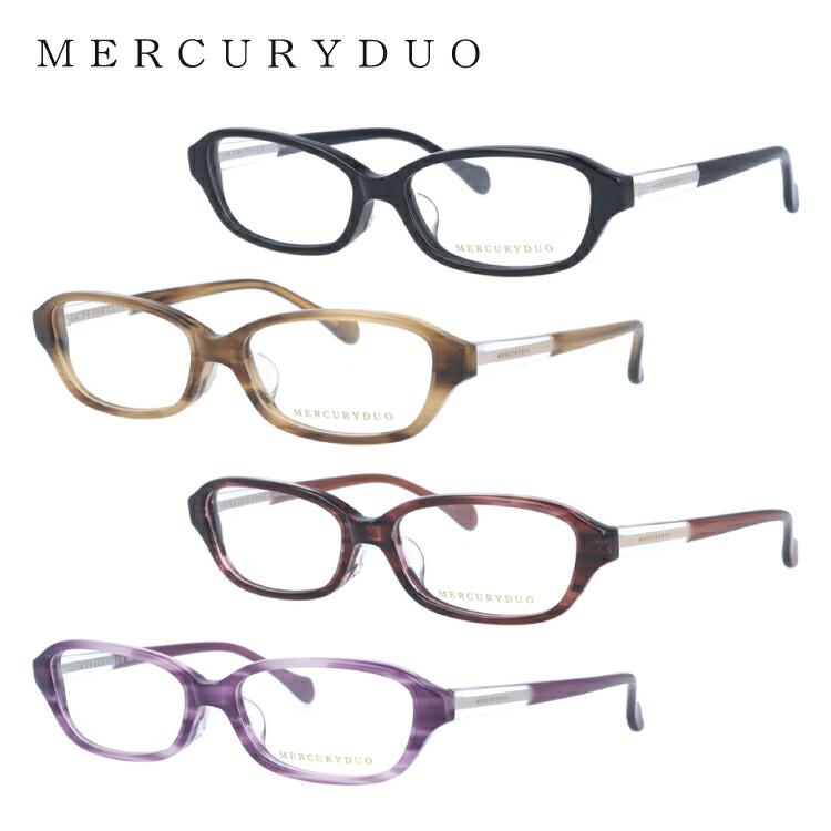 マーキュリーデュオ メガネ MERCURYDUO 伊達 眼鏡 MDF8027 全4カラー レディース ブランドメガネ ダテメガネ ファッションメガネ 伊達レンズ無料(度なし・UVカット)