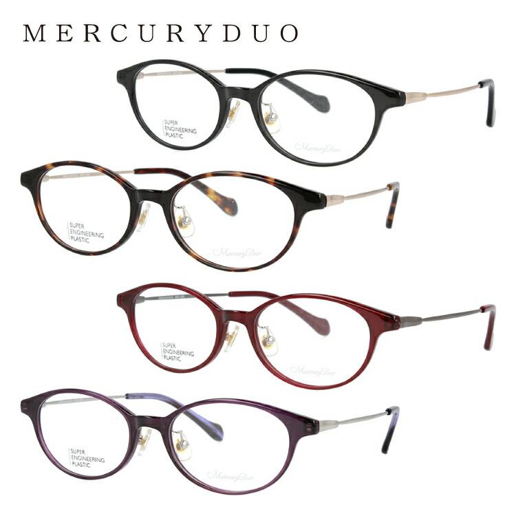 マーキュリーデュオ メガネフレーム 伊達メガネ MERCURYDUO MDF 2006 全4カラー 50サイズ オーバル ユニセックス メンズ レディース
