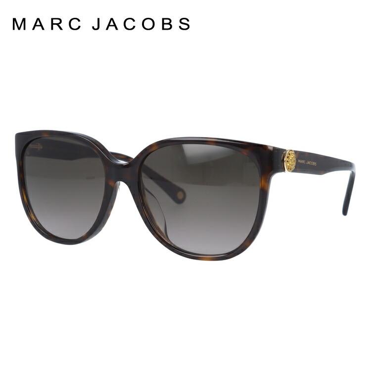 マークジェイコブス サングラス MARC JACOBS レディースサングラス アジアンフィット MARC 92/FS 086/HA 57サイズ 国内正規品 ウェリントン