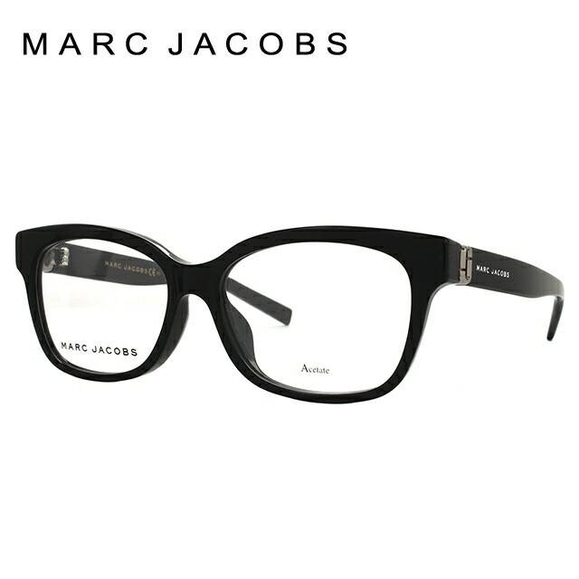 マークジェイコブス メガネ フレーム MARC JACOBS レディース伊達 眼鏡 伊達 眼鏡 アジアンフィット MARC 147F 807 52 国内正規品 スクエア ブランドメガネ ダテメガネ ファッションメガネ 伊達レンズ無料(度なし・UVカット)