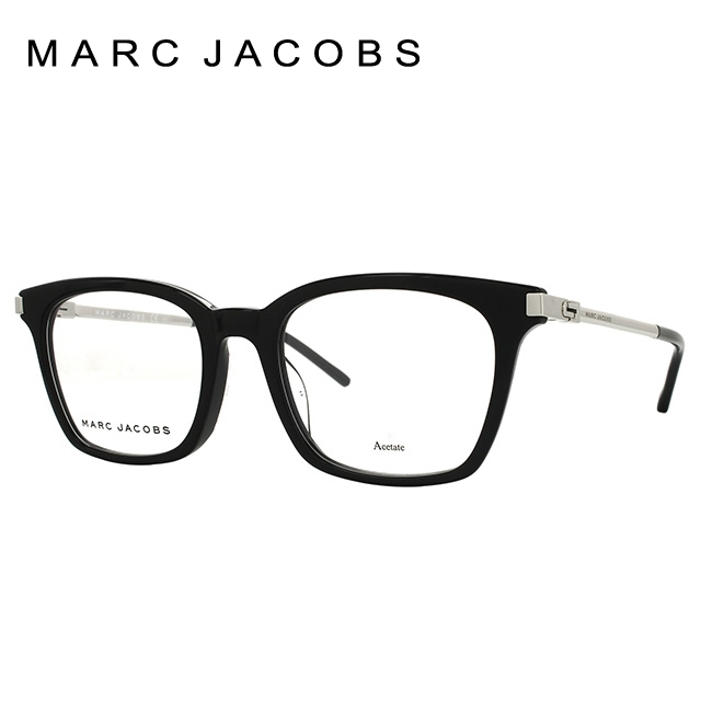マークジェイコブス メガネ フレーム MARC JACOBS レディース伊達 眼鏡 伊達 眼鏡 アジアンフィット MARC 155F CSA 52 国内正規品 ウェリントン ブランドメガネ ダテメガネ ファッションメガネ 伊達レンズ無料(度なし・UVカット)