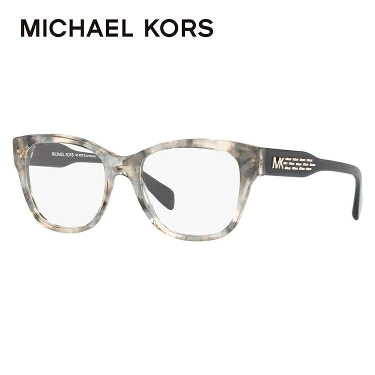 マイケルコース メガネフレーム 伊達メガネ アジアンフィット MICHAEL KORS MK4059F 3341 52サイズ 国内正規品 ウェリントン ユニセックス メンズ レディース