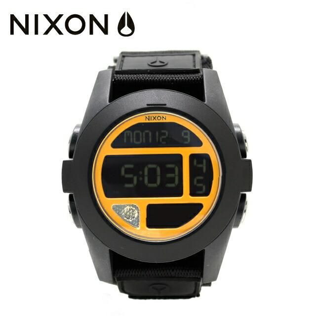 【ポイント20倍※5/7(木)09:59まで】ニクソン 腕時計 NIXON ウォッチ 国内正規品 NA4891323-00 NIXON BAJA: BLACK/STEEL BLUE/NEON ORANGE メンズ レディース ギフト