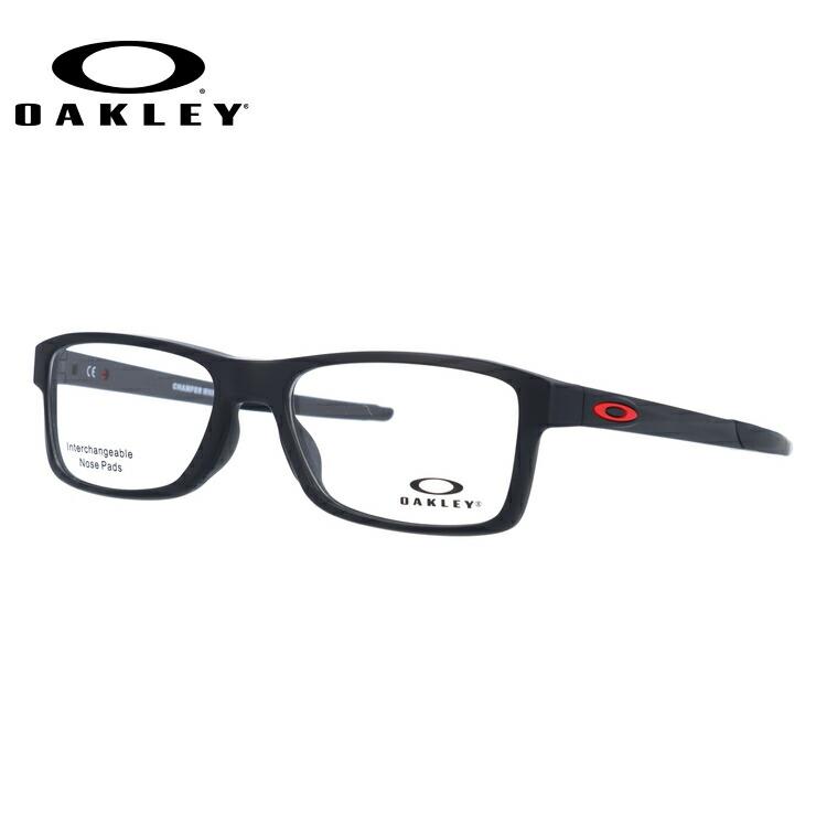 オークリー メガネ 国内正規品 OAKLEY 眼鏡 シャンファーMNP OX8089-0154 54 サテンブラック アジアンフィット 交換用ノーズパッド 交換用オークリーアイコン CHAMFER MNP メンズ レディース スポーツ アイウェア