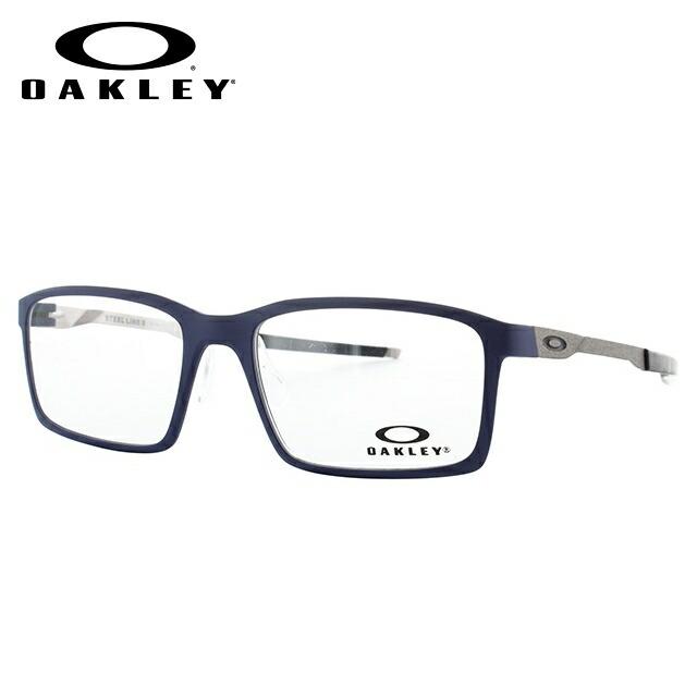オークリー メガネ 国内正規品 OAKLEY 眼鏡 スティールラインS OX8097-0354 54 マットデニム レギュラーフィット Steel Line S メンズ レディース スポーツ アイウェア