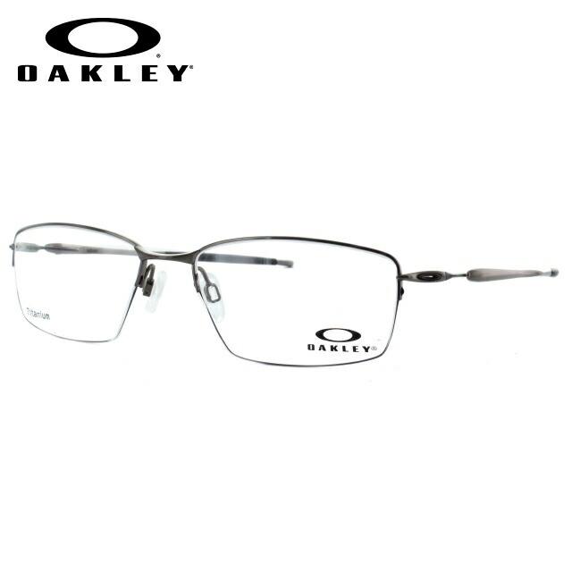 オークリー メガネ 国内正規品 OAKLEY 眼鏡 リザード OX5113-0356 56 ブロッシュドクローム 調整可能ノーズパッド Lizard メンズ レディース スポーツ アイウェア