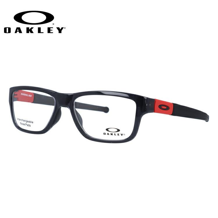 オークリー メガネ 国内正規品 OAKLEY 眼鏡 マーシャルMNP OX8091-0355 55 ポリッシュドブラックインク アジアンフィット 交換用ノーズパッド Marshal MNP メンズ レディース スポーツ アイウェア
