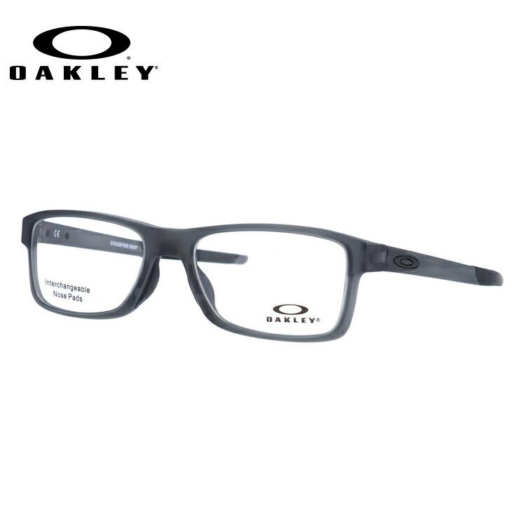 オークリー メガネ 国内正規品 OAKLEY 眼鏡 シャンファーMNP OX8089-0354 54 サテングレースモーク 交換用ノーズパッド 交換用オークリーアイコン CHAMFER MNP メンズ レディース スポーツ アイウェア