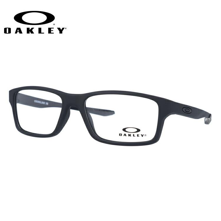 【ジュニア・ユース(子供用)】オークリー メガネ 国内正規品 OAKLEY 眼鏡 クロスリンクXS 伊達メガネ レギュラーフィット OAKLEY CROSSLINK XS OY8002-0151 51サイズ スクエア
