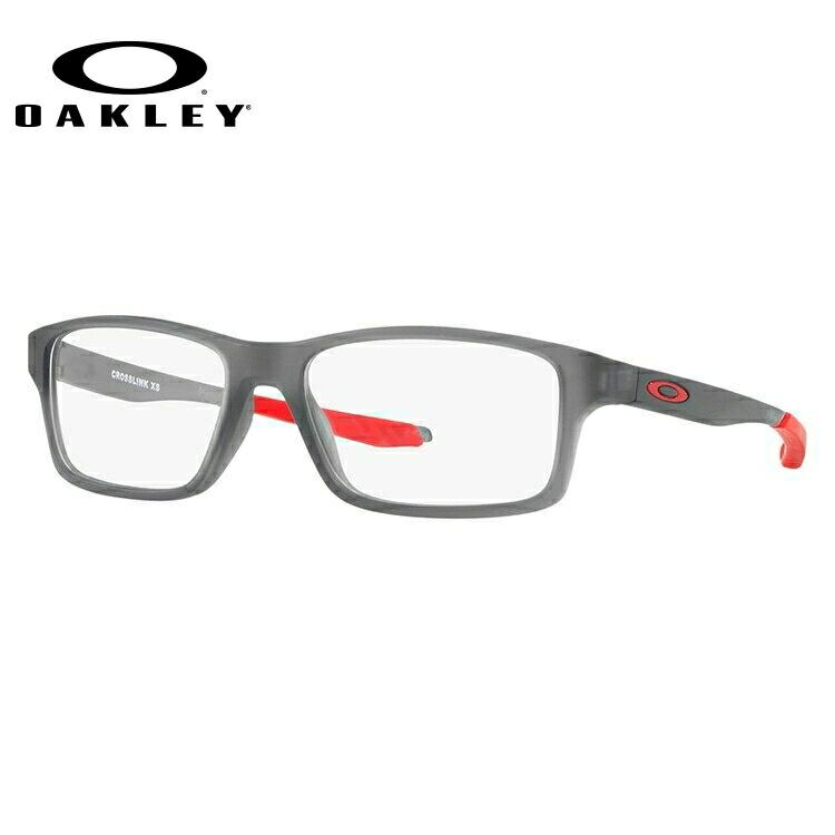 【ジュニア・ユース(子供用)】オークリー メガネ 国内正規品 OAKLEY 眼鏡 クロスリンクXS 伊達メガネ レギュラーフィット OAKLEY CROSSLINK XS OY8002-0349 49サイズ スクエア