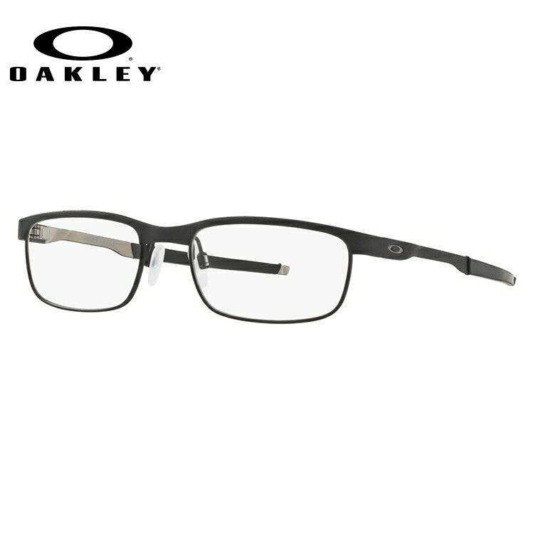オークリー メガネ 国内正規品 OAKLEY 眼鏡 スチールプレート 伊達メガネ OAKLEY STEEL PLATE OX3222-0152 52サイズ スクエア ユニセックス メンズ レディース