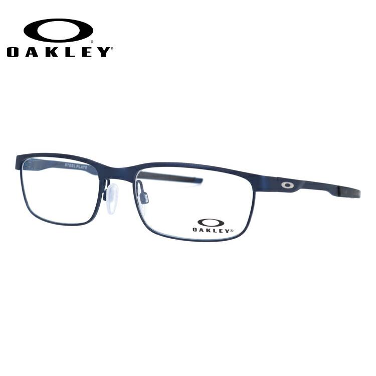 オークリー メガネ 国内正規品 OAKLEY 眼鏡 スチールプレート 伊達メガネ OAKLEY STEEL PLATE OX3222-0354 54サイズ スクエア ユニセックス メンズ レディース
