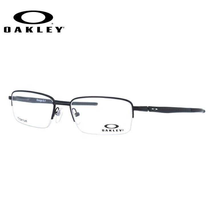 オークリー メガネ 国内正規品 OAKLEY 眼鏡 ゲージ5.1 伊達メガネ OAKLEY GAUGE 5.1 OX5125-0152 52サイズ スクエア ユニセックス メンズ レディース