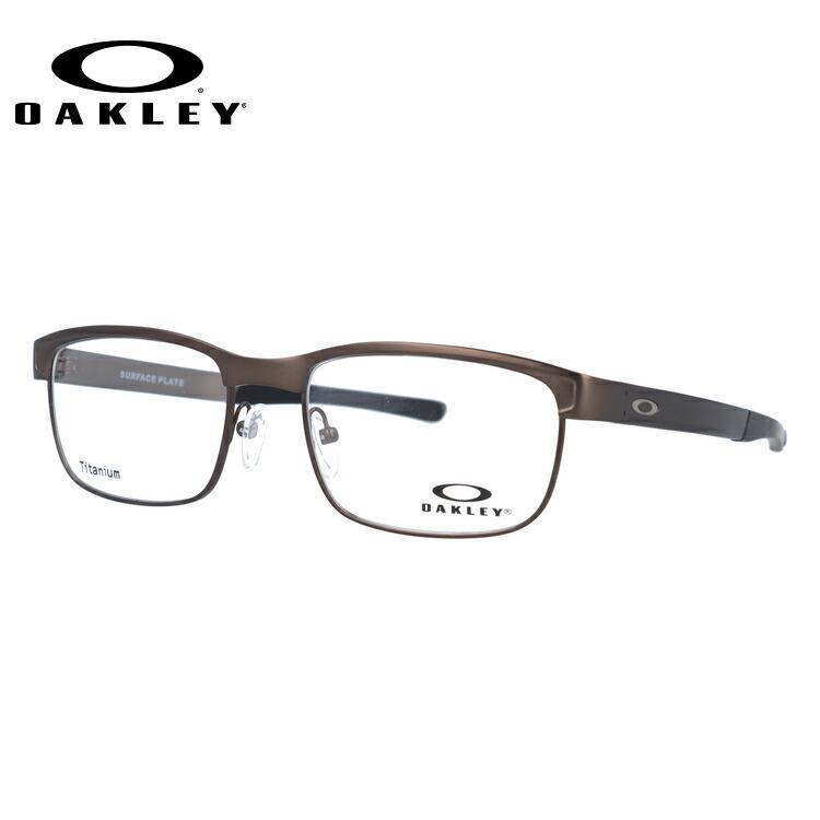 オークリー メガネ 国内正規品 OAKLEY 眼鏡 サーフェスプレート 伊達メガネ OAKLEY SURFACE PLATE OX5132-0252 52サイズ ブロー ユニセックス メンズ レディース