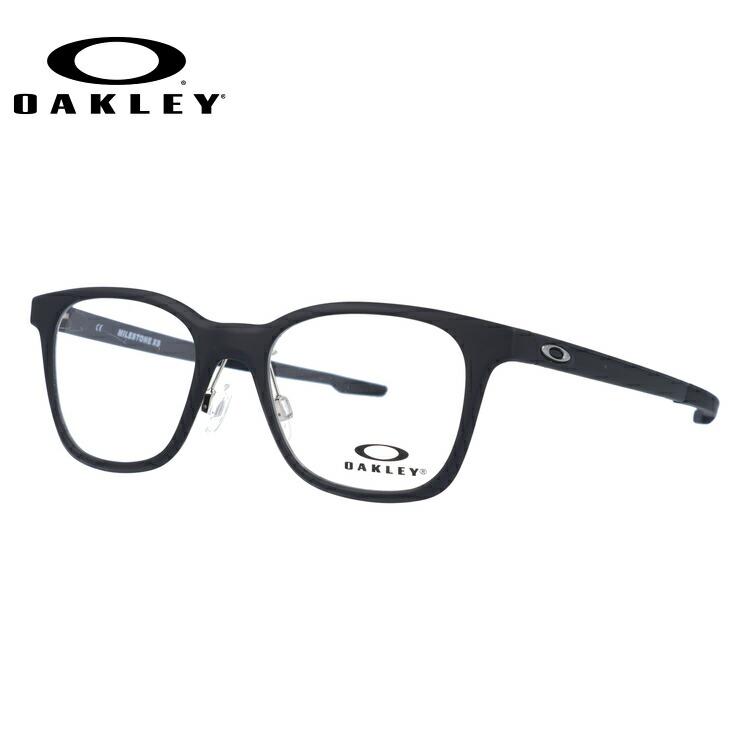 【ジュニア・ユース(子供用)】オークリー メガネ 国内正規品 OAKLEY 眼鏡 マイルストーン XS 伊達メガネ OAKLEY MILESTONE XS OY8004-0145 45サイズ ウェリントン