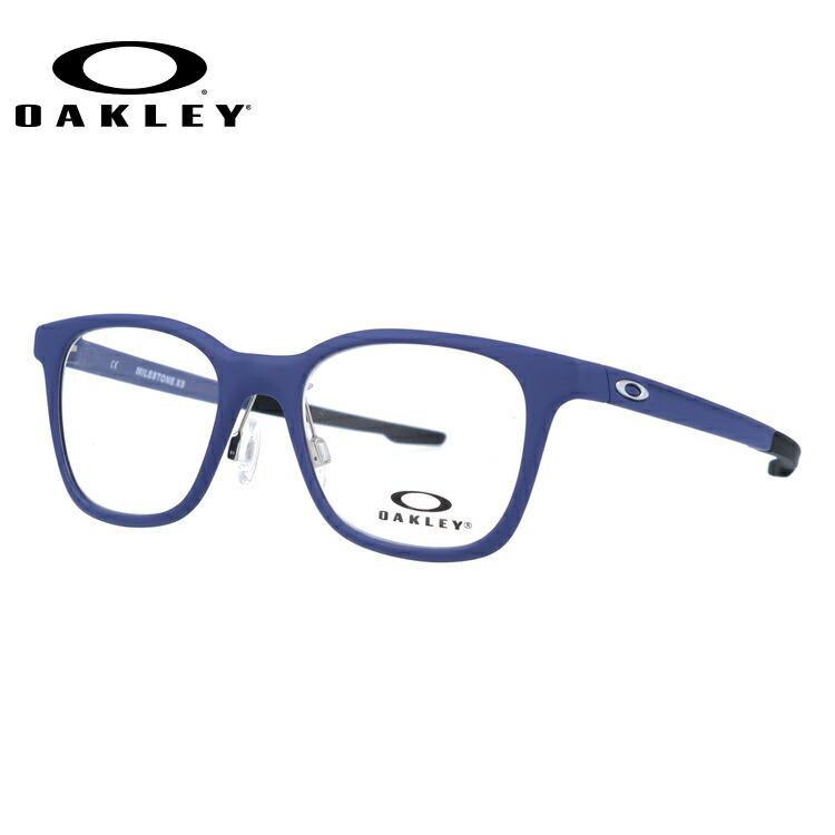 【ジュニア・ユース(子供用)】オークリー メガネ 国内正規品 OAKLEY 眼鏡 マイルストーン XS 伊達メガネ OAKLEY MILESTONE XS OY8004-0345 45サイズ ウェリントン