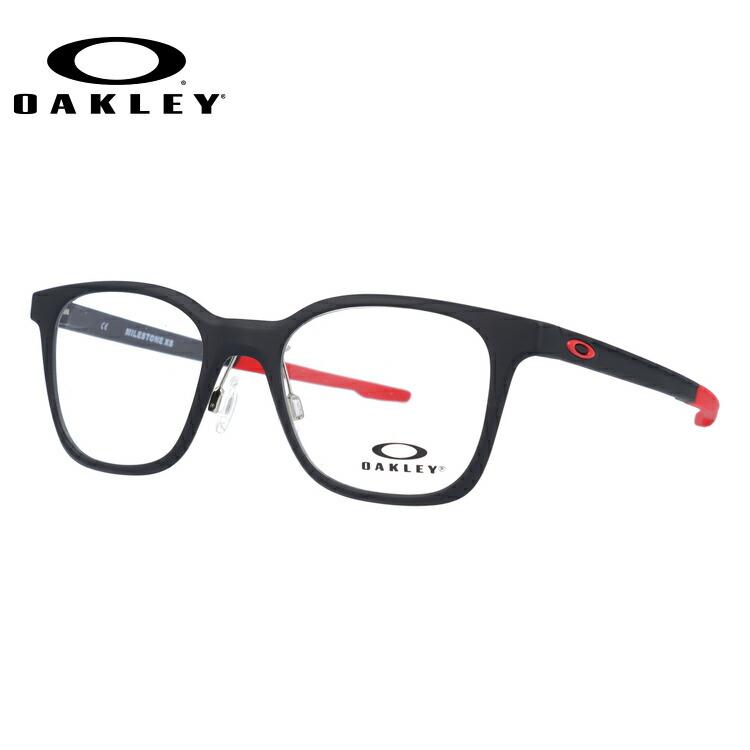 【ジュニア・ユース(子供用)】オークリー メガネ 国内正規品 OAKLEY 眼鏡 マイルストーン XS 伊達メガネ OAKLEY MILESTONE XS OY8004-0447 47サイズ ウェリントン