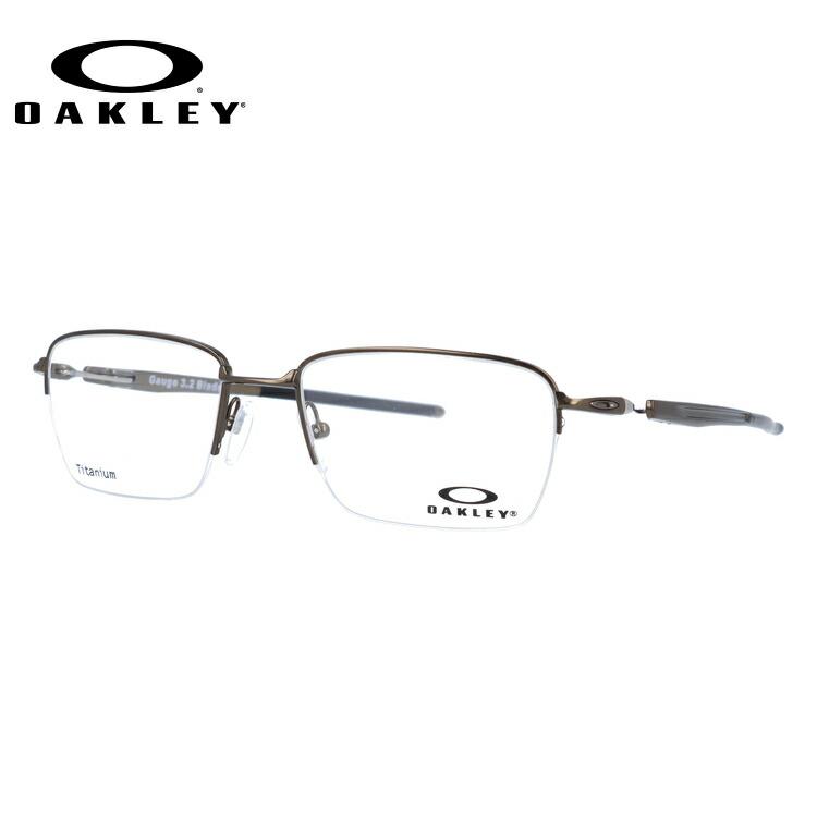 オークリー メガネ 国内正規品 OAKLEY 眼鏡 ゲージ3.2 ブレイド 伊達メガネ OAKLEY GAUGE 3.2 BLADE OX5128-0252 52サイズ スクエア ユニセックス メンズ レディース
