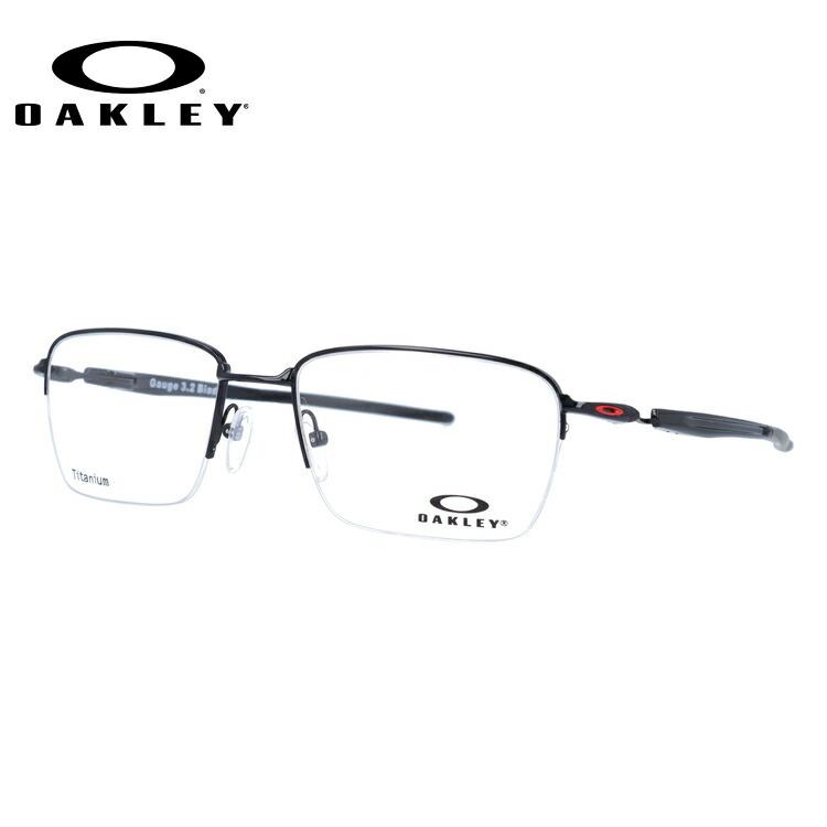 オークリー メガネ 国内正規品 OAKLEY 眼鏡 ゲージ3.2 ブレイド 伊達メガネ OAKLEY GAUGE 3.2 BLADE OX5128-0454 54サイズ スクエア ユニセックス メンズ レディース