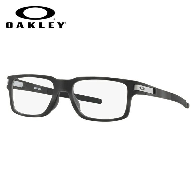 オークリー メガネ 2018年新作 国内正規品 OAKLEY 眼鏡 ラッチEX 伊達メガネ OAKLEY LATCH EX OX8115-0552 52サイズ スクエア ユニセックス メンズ レディース