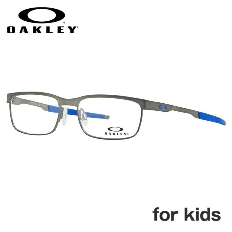 【ジュニア・ユース(子供用)】オークリー メガネ 2018年新作 国内正規品 OAKLEY 眼鏡 スティールプレートXS 伊達メガネ OAKLEY STEEL PLATE XS OY3002-0248 48サイズ スクエア レディース