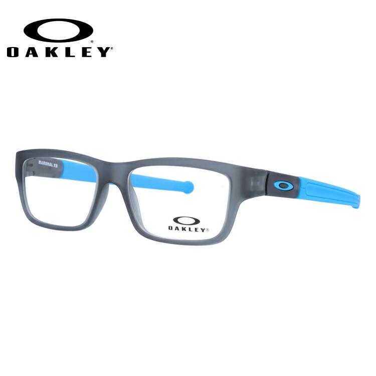 【ジュニア・ユース(子供用)】オークリー メガネ 2018年新作 国内正規品 OAKLEY 眼鏡 マーシャルXS 伊達メガネ ユースフィット OAKLEY MARSHAL XS OY8005-0247 47サイズ スクエア レディース