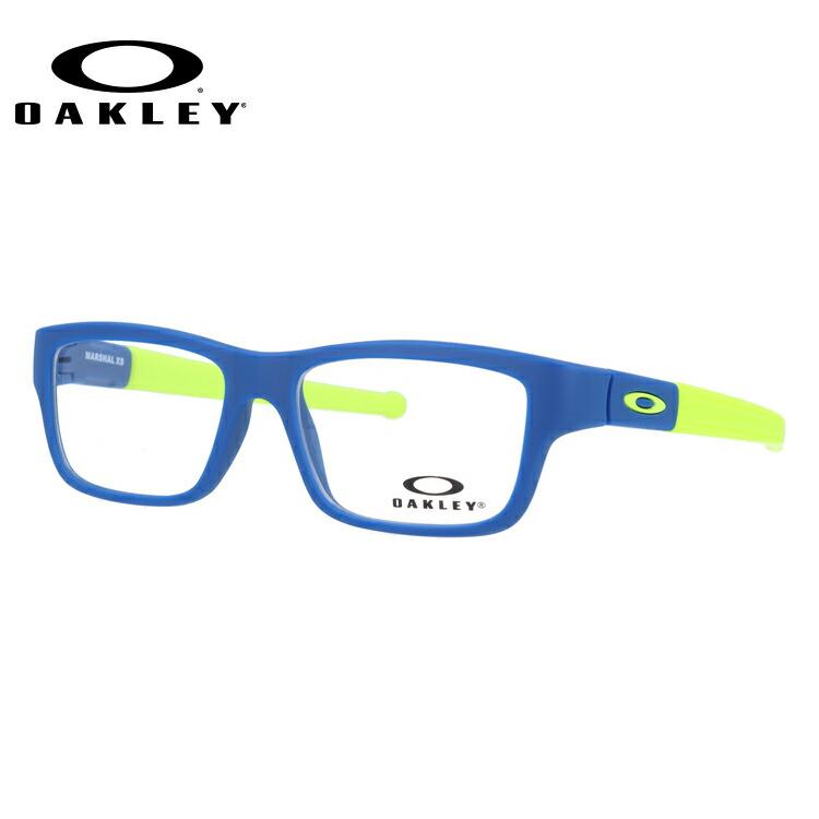 【ジュニア・ユース(子供用)】オークリー メガネ 2018年新作 国内正規品 OAKLEY 眼鏡 マーシャルXS 伊達メガネ ユースフィット OAKLEY MARSHAL XS OY8005-0447 47サイズ スクエア レディース