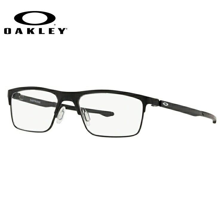 オークリー メガネフレーム おしゃれ老眼鏡 PC眼鏡 スマホめがね 伊達メガネ リーディンググラス 眼精疲労 カートリッジ OAKLEY CARTRIDGE OX5137-0152 52サイズ スクエア ユニセックス メンズ レディース 【国内正規品】
