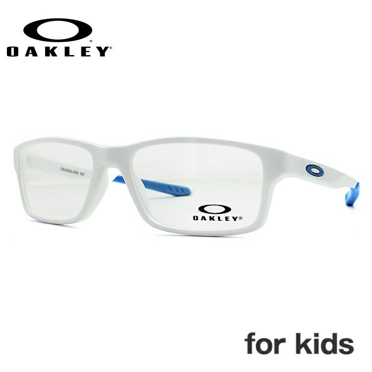 オークリー メガネフレーム クロスリンクXS 伊達メガネ レギュラーフィット OAKLEY CROSSLINK XS OY8002-0951 51サイズ 国内正規品 スクエア キッズ ジュニア ユース レディース