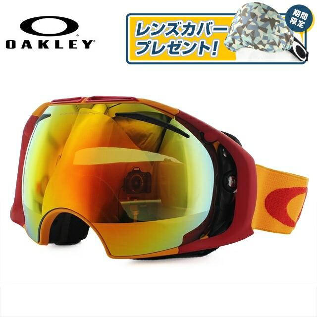 オークリー ゴーグル スノーゴーグル AIRBRAKE OAKELY エアブレイク エアーブレイク 59-132J アジアンフィット ミラーレンズ メンズ レディース 男女兼用 スキーゴーグル スノーボードゴーグル GOGGLE