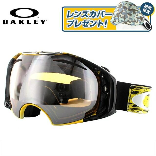 オークリー ゴーグル エアブレイク AIRBRAKE OAKELY エアーブレイク 59-273J アジアンフィット ミラーレンズ メンズ レディース 男女兼用 スキーゴーグル スノーボードゴーグル