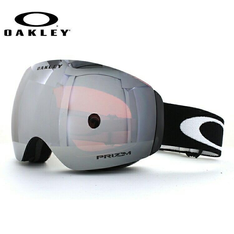 【フレームレス/メガネ対応】オークリー ゴーグル スノーゴーグル FLIGHT DECK XM OAKELY フライトデッキXM OO7064-21 レギュラーフィット ミラーレンズ PRIZM 眼鏡対応 メンズ レディース 男女兼用 スキーゴーグル スノーボードゴーグル GOGGLE